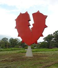 corazón rojo. Carlos Zerpa