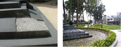 Restauración en base del monumento pedestre de Antonio José de Sucre